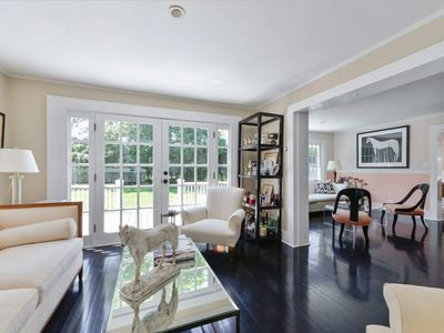 Photo for Stunningly Renovated Bridgehampton Farmhouse with Pool-house.
