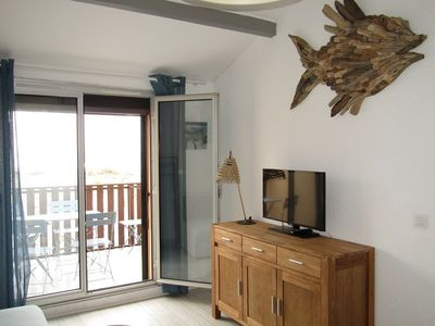 Photo for Nice appartment for 4 with sea view