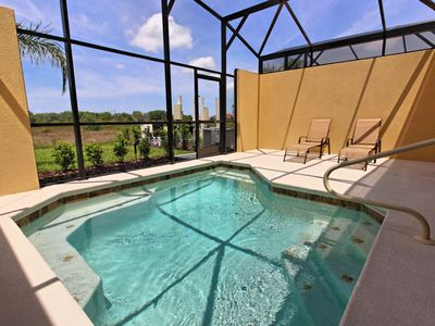 Photo for Lavish Solterra 4 Bedroom Townhome with Private South Facing Pool