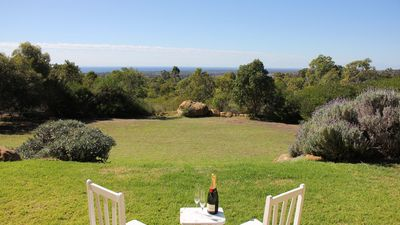 Enjoy some bubbles over the view of Geographe Bay