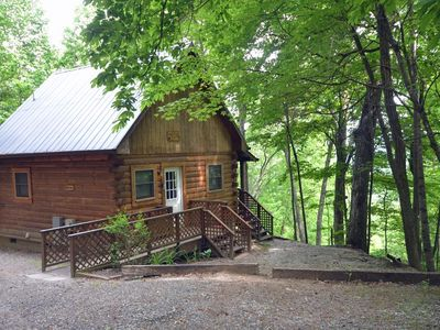 Photo for Solitude Cabin-Watershed Cabins-Nestled in Quiet Wooded Area