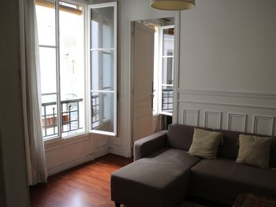 Photo for 2 Bdr Apt, Hip & Central Paris, Montmartre-Opera, 3 mns from Gare du Nord