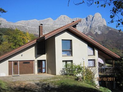 Photo for WILDERNESS PARK VERCORS BEAUTIFUL HOUSE WITH PANORAMIC VIEWS