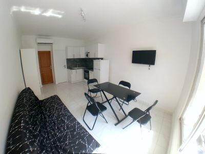 Photo for Coquet studio refurbished, furnished, equipped, air-conditioned