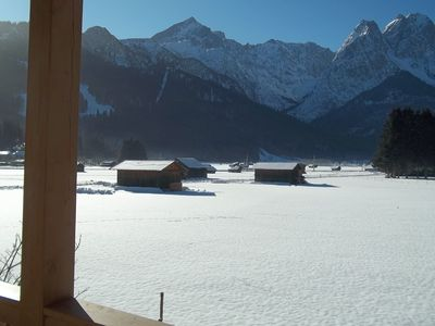 Winter view from the balcony