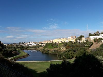 Photo for Magnificent penthouse in the heart of golf and close to the sea