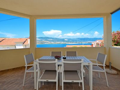 Photo for BLUE SKY 2 Apartment with sea view, for 4 + 2 persons