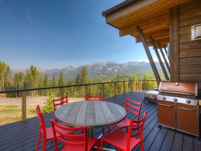 Photo for A Chic Mountain Cabin Offering Stunning Views and Premium Luxury Amenities!
