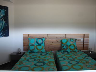 Photo for Architect house, swimming pool with waterfall, sea view, fully airconditioned