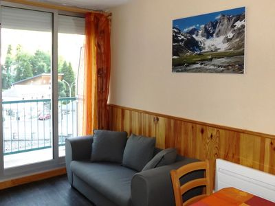 Photo for Cauterets-Residence LE LYS-Studio 24m² balcony cabin front of the gondolas