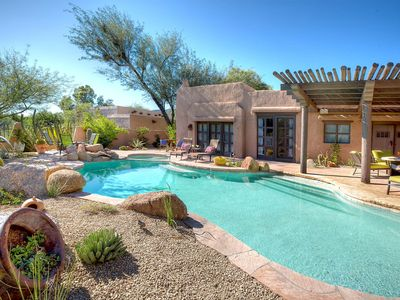 Photo for NEW LISTING! Southwest charm w/saltwater pool & pool spa at Boulders Resort