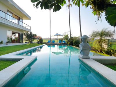 Photo for 4 br villa with stunning ricefields view