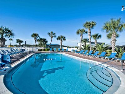 Photo for Beachfront Condo - Gulf View! - 2 Pools - Steps to Beach - Tennis - WIFI