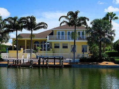 Photo for 3,500sf Executive Home on Canal w/Pool. 2 blocks From Beach and The Circle. Sleeps 9