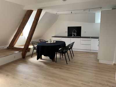 Photo for Apartment 80m2 center of Talloires