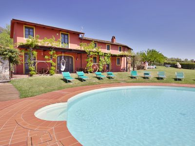 Photo for Big Private Garden, AC, Swimming Pool, Huge Playground, Hot Tub & Great View