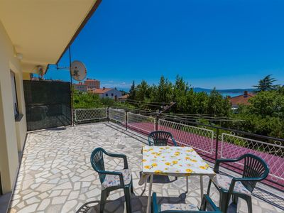 Photo for p This apartment is located near the sandy beach in Crikvenica....