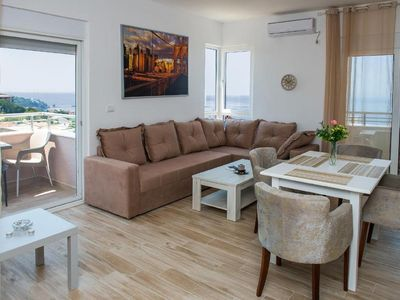 Photo for Holiday apartment Utjeha for 8 persons with 2 bedrooms - Holiday apartment in a villa
