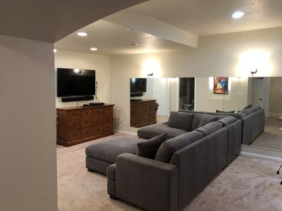 Photo for Bonus Room! Newly remodeled spacious basement with extra private bed and bath