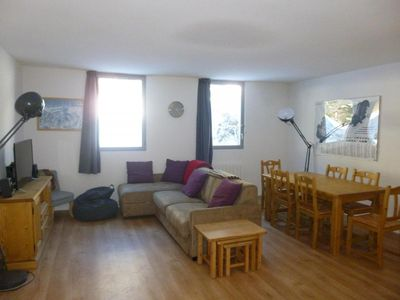 Photo for Surface area : about 60 m². 3rd floor. Orientation : North. View mountain
