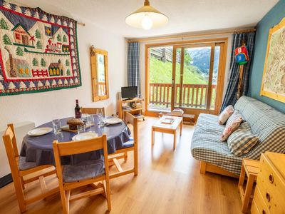 Photo for Ski In/ Out , Nice apartment 4 pers. Meribel Centre !