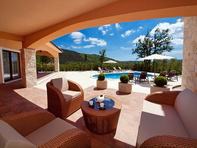 Photo for 20% discount in April / May Exclusive family villa with spa and pool