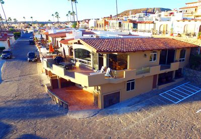 "A CLOSER AERIAL SHOT OF ""LA VILLA DE AMOR"""
