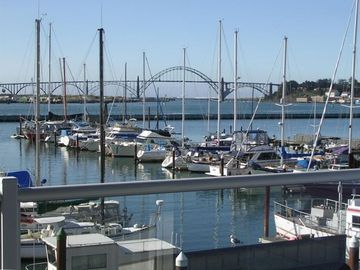 Historic Bayfront, Newport, OR, USA