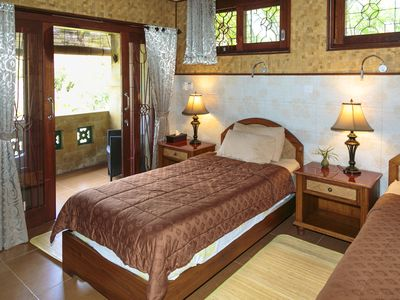 Photo for Quiet, Luxury Sawo Apartment 2 at Murni's Houses and Spa, Ubud, Bali