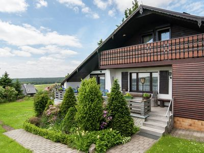 Photo for Beautiful detached holiday home with sauna adjacent to the Rennsteig in Thuringia
