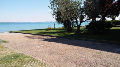 Photo for SPLENDID LAKE FRONT LOCATION 500MT FROM THE CASTLE OF SIRMIONE