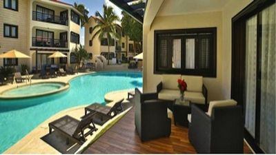 Photo for luxurious one and two bedroom suite on a beautiful resort in Dominican Republic