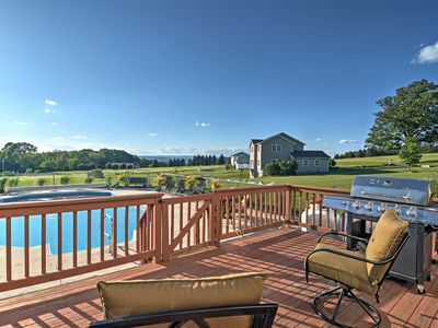 Photo for Lovely Saylorsburg Home w/ Pool & Amazing Views!