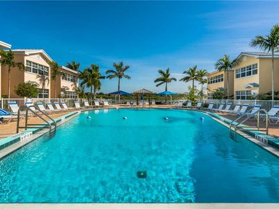 Photo for Barefoot Beach Condo, Sleeps 6, Pool, Dock, Water Views, Wifi, 2nd Floor