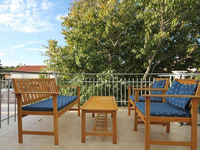 Photo for One bedroom apartment with terrace Novalja (Pag)