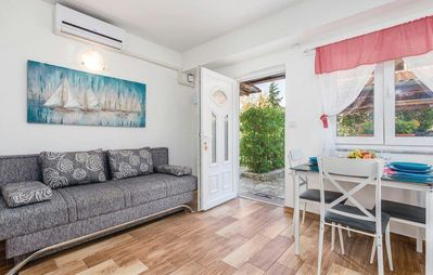 Photo for One bedroom apartment with terrace and sea view Kastav (Opatija)