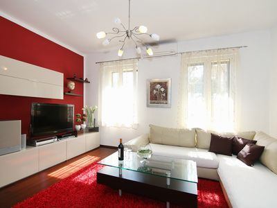 Photo for Apartman Varos in the center with private parking