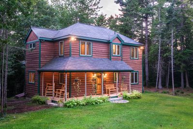 Fern Way, your hideaway  from which to explore Acadia or to just get away.