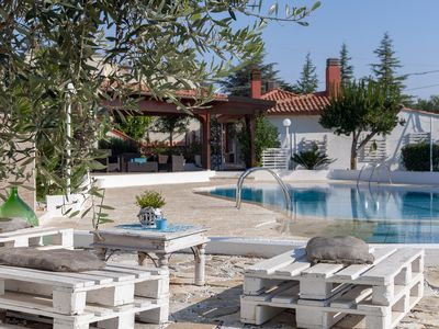 Photo for Beautiful Villa with Shared Pool for 4 people