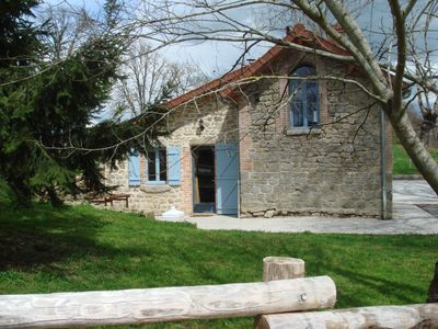 Photo for Charming gite, 4 stars, Peyrat La Nonière on a land with castle and lake