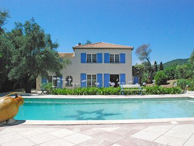 Photo for Nice property in private area for 10 people with swimming pool