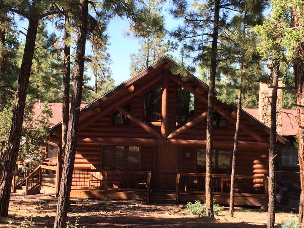 rentals enjoy the guided arizona overgaard rental horse cabin bar s heber az a photo album bison at cabins ranch take