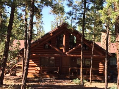 Photo for 3BR Cabin Vacation Rental in Lakeside, Arizona