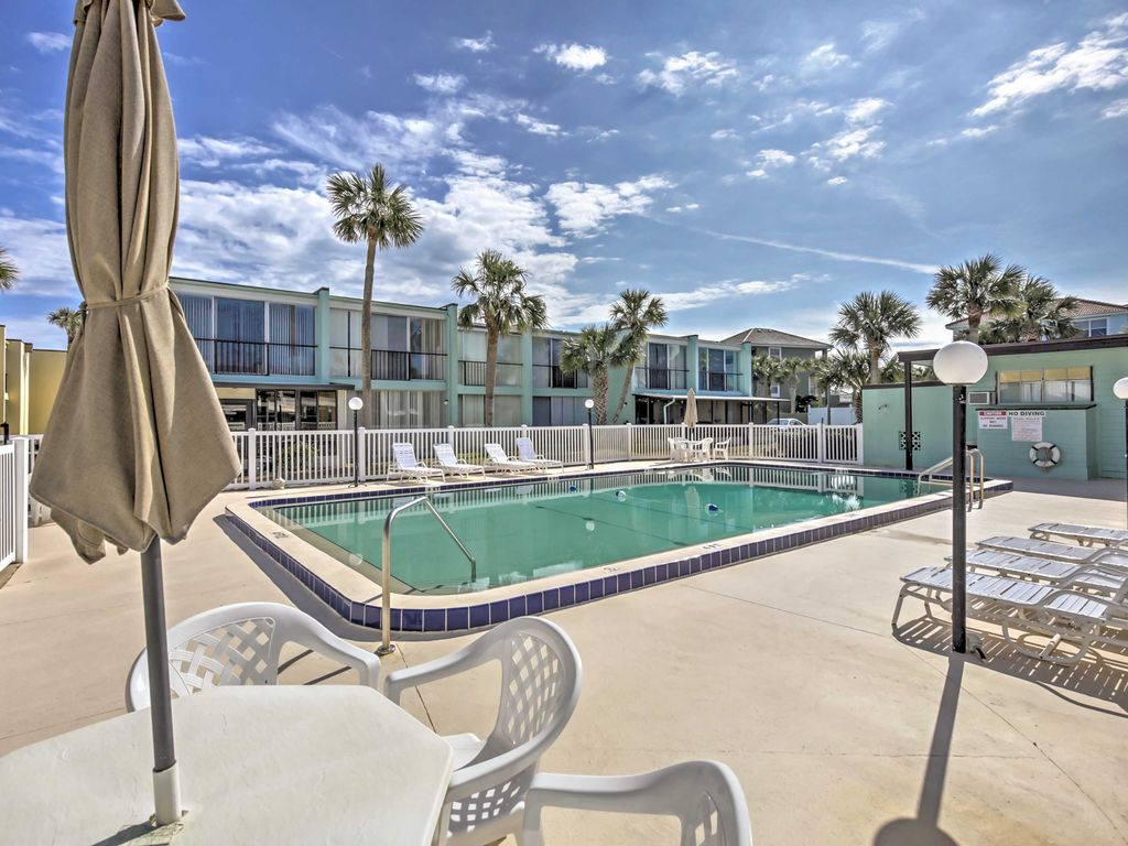 Ormond Beach Resorttownhouse Steps To Pool