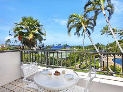 "Photo for Poipu Vacation Rental Amazing Ocean View Getaway ""A/C Master Suite"" *Kahala 221*"