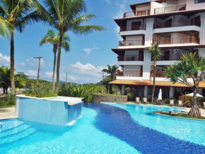 Photo for duplex penthouse facing the sea w / barbecue + pool and leisure area