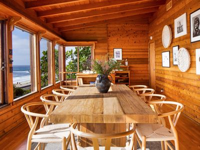 Photo for Retro Modern Oceanfront Home w/ Two Expansive Patios ❤ Fleetwood by AvantStay