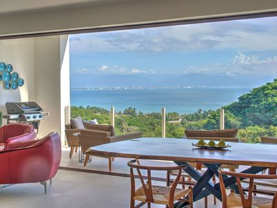 Photo for Brand New Deluxe 2 bed Private Beach with Magnificent Views