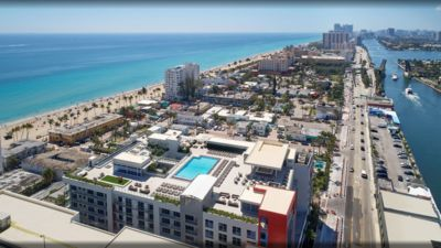 Photo for Beachfront Condo ROOFTOP infinity POOL Holl