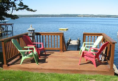 Our Deck, Dock, and Swim Float